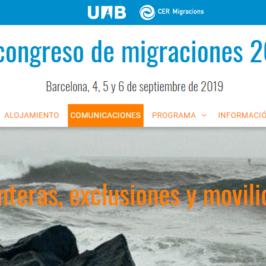 IX congreso de migraciones 2019