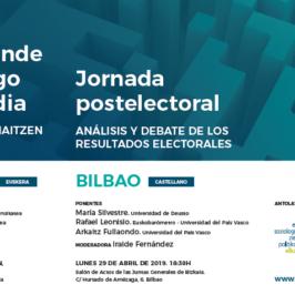 Jornada postelectoral: análisis y debate de los resultados electorales