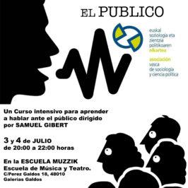 CURSO: EL ARTE DE HABLAR EN PÚBLICO (3-4 julio)
