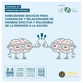 CURSO: HABILIDADES SOCIALES PARA COMUNICAR Y RELACIONARSE DE MANERA EFECTIVA Y SALUDABLE (2-3 julio)
