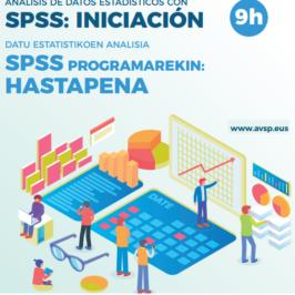 CURSO ANÁLISIS DE DATOS ESTADÍSTICOS CON SPSS: INICIACIÓN (9h)